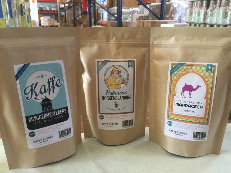 Våre kaffeblandinger